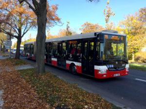 Autobus 119 spojení na letiště