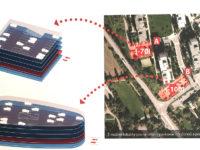 Varianty, kde by mohly stát parkovací domy, jsou, zdá se, tři. Dvě lokality jsou u Drnovské, třetí je celá zóna mezi Vlastinou a sídlištěm. Zdroj: Šestka