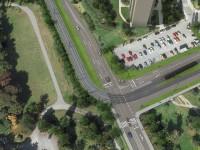 Tato vizualizace zachycuje plánovanou podobu křižovatka s Vlastina x Drnovská. Zdroj: Stavební dokumentace MHMP
