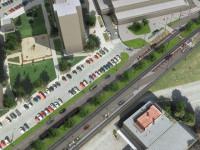 Nový dokument oficiálně konstatuje, že na Dědině bude třeba řešit úbytek parkovacích míst. Vizualizace: MHMP