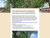 Radnice žádá Dědinu: řekněte nám názor na tramvaj a parkovací domy