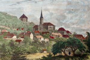 Liboc - ilustrace z roku cca 1880
