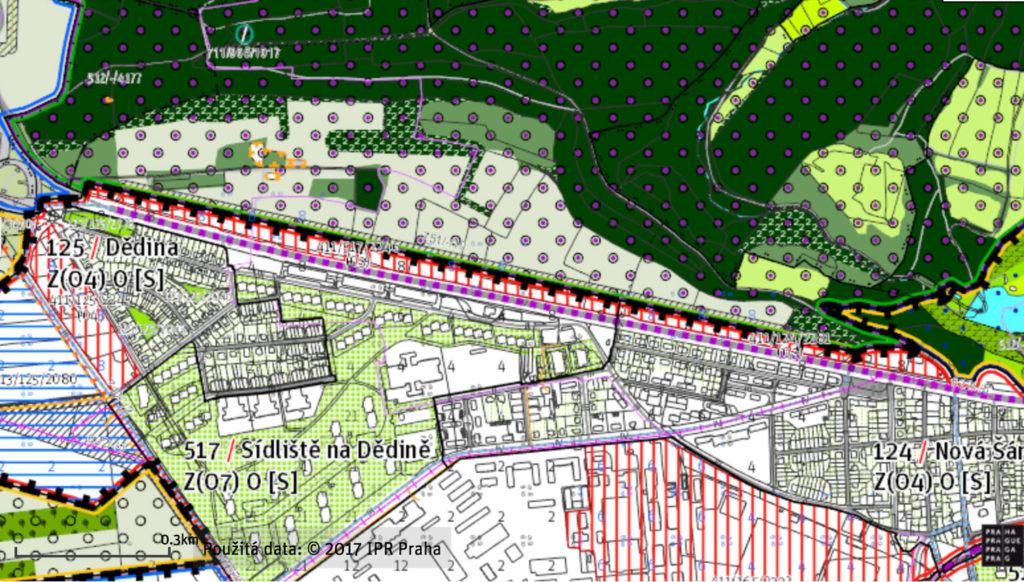 Metropolitní plán - Divoká Šárka