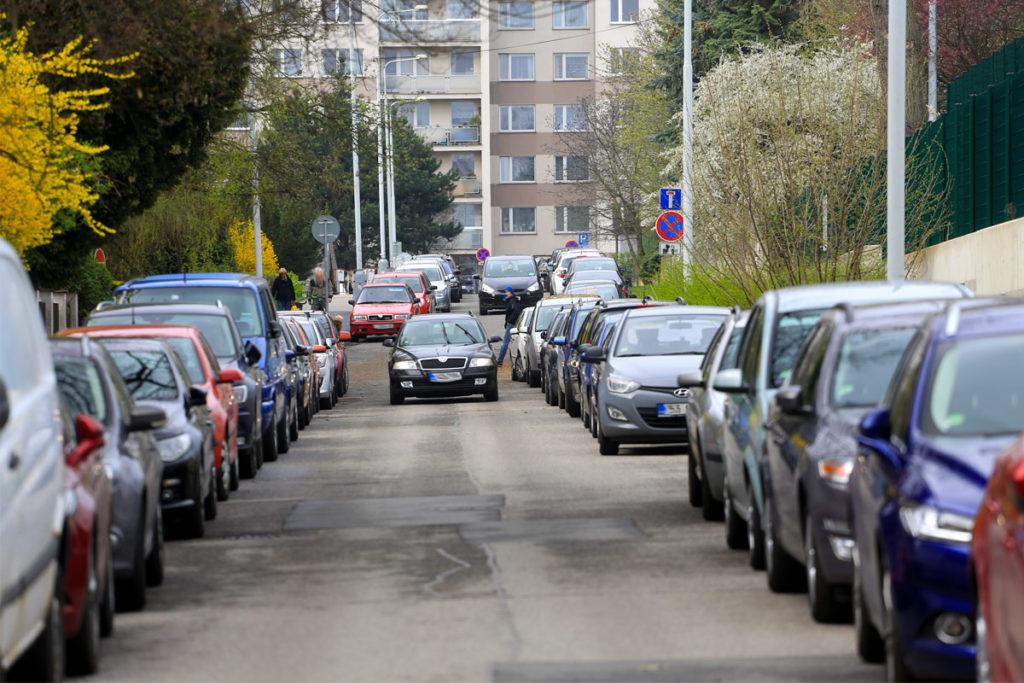 parkování Dědina