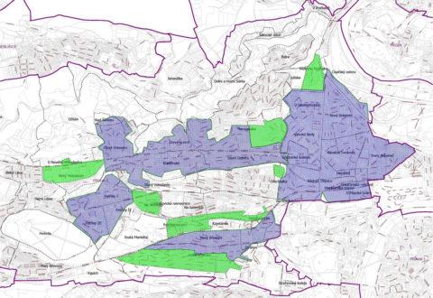 Do konce roku 2018 se modré zóny rozšíří o několik dílčích oblastí, zejména o kus Břevnova a Veleslavín. Právě z Veleslavína se auta směřující ze Středních Čech budou snažit přesounout do oblasti Dědiny a okolí. Zdroj: Radnice Prahy 6
