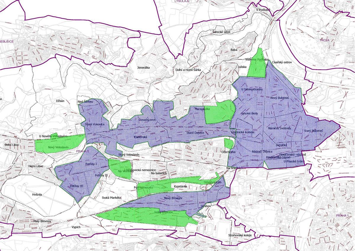 rozšíření modrých zón Praha 6